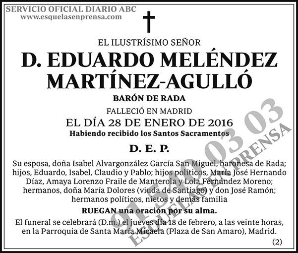 Eduardo Meléndez Martínez-Agulló